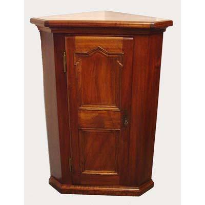 antiquit ten b rki produkte detail kleiner eckschrank stil barock 19 jh. Black Bedroom Furniture Sets. Home Design Ideas